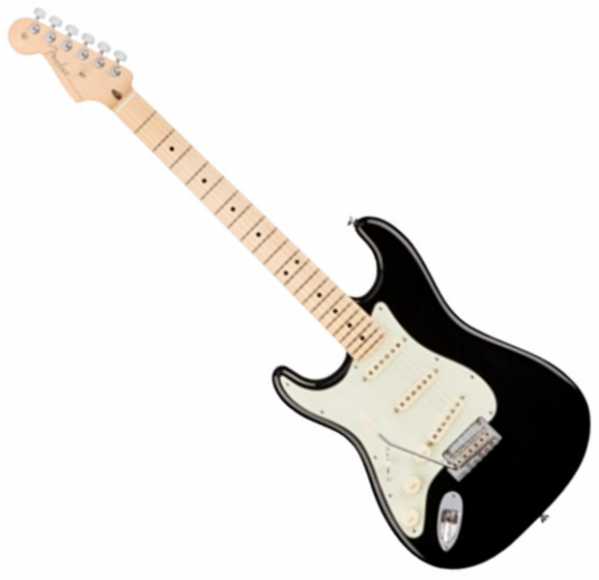 Guitare électrique solid body Fender American Professional Stratocaster Gaucher (USA, MN) - black