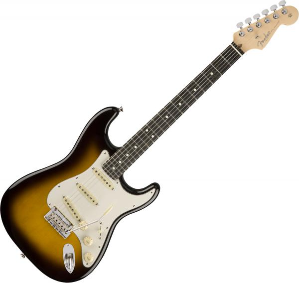 Guitare électrique solid body Fender American Professional Stratocaster Ltd (USA, EB) - '50s burst