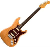 Guitare électrique solid body Fender American Ultra Stratocaster HSS (USA, RW) - Aged natural