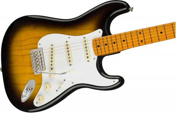 Guitare électrique solid body Fender Classic Series '50s Stratocaster Lacquer (MEX, MN) - 2-color sunburst