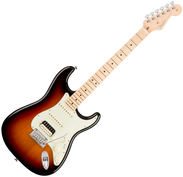 Guitare électrique solid body Fender American Professional Stratocaster HSS Shawbucker (USA, MN) - 3-color sunburst