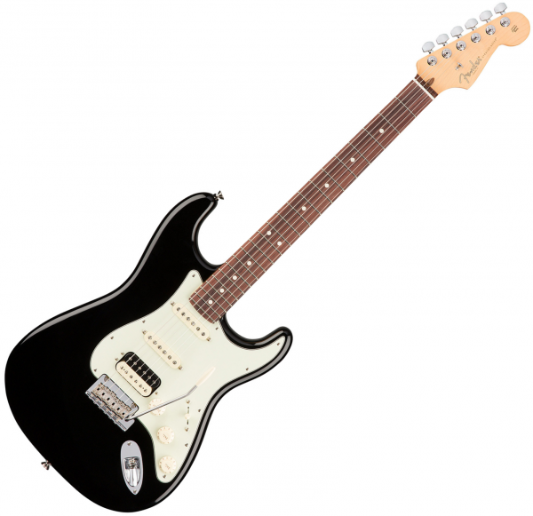 Guitare électrique solid body Fender American Professional Stratocaster HSS Shawbucker (USA, RW) - Black