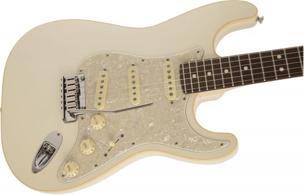 Guitare électrique solid body Fender Made in Japan Modern Stratocaster (RW) - olympic pearl