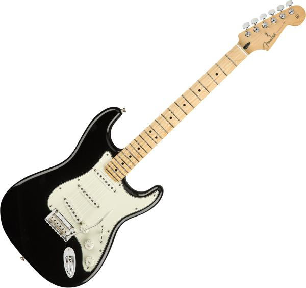 Guitare électrique solid body Fender Player Stratocaster (MEX, MN) - black