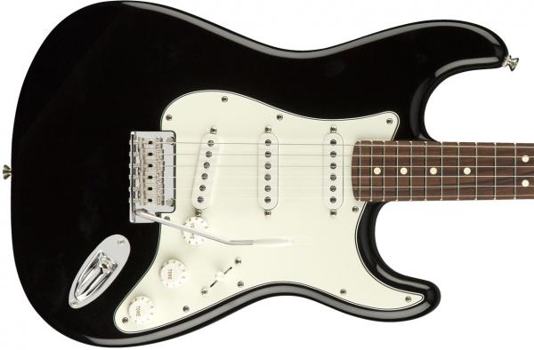 Guitare électrique solid body Fender Player Stratocaster (MEX, PF) - black