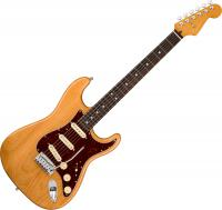 Guitare électrique solid body Fender American Ultra Stratocaster (USA, RW) - Aged natural