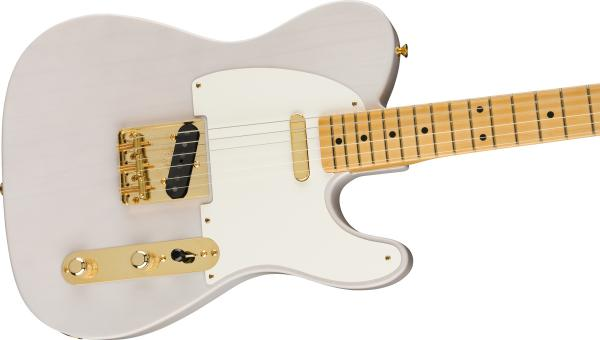 Guitare électrique solid body Fender American Original '50s Telecaster Ltd (USA, MN) - white blonde