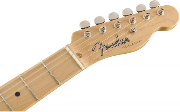 Guitare électrique solid body Fender American Original '50s Telecaster Gaucher (USA, MN) - butterscotch blonde