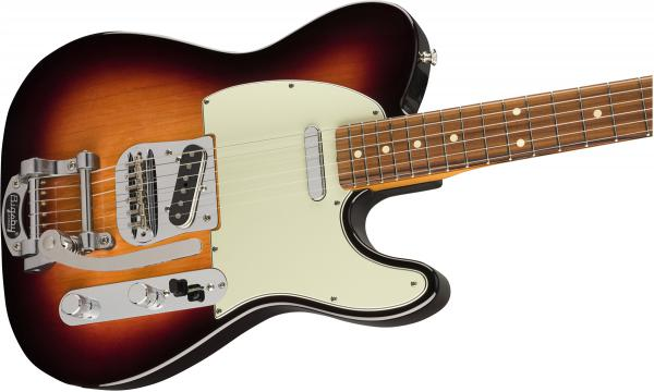 Guitare électrique solid body Fender Vintera 60's Telecaster Bigsby (MEX, PF) - 3-color sunburst