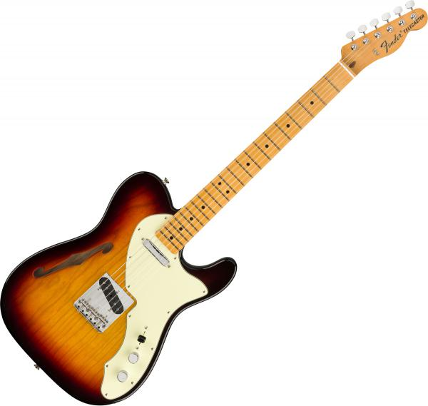 Guitare électrique hollow body Fender American Original 60s Telecaster Thinline (USA, MN) - 3-color sunburst
