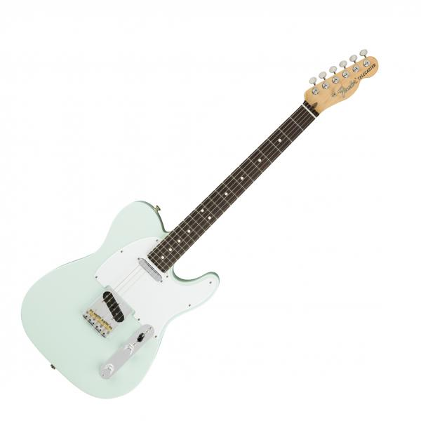 Guitare électrique solid body Fender American Performer Telecaster (USA, RW) - satin sonic blue