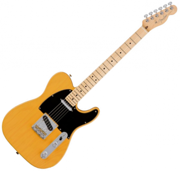 Guitare électrique solid body Fender American Professional Telecaster (USA, MN) - Butterscotch blonde