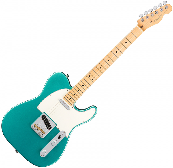 Guitare électrique solid body Fender American Professional Telecaster (USA, MN) - Mystic seafoam
