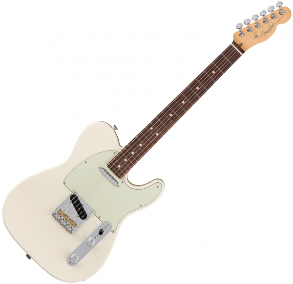 Guitare électrique solid body Fender American Professional Telecaster (USA, RW) - Olympic white