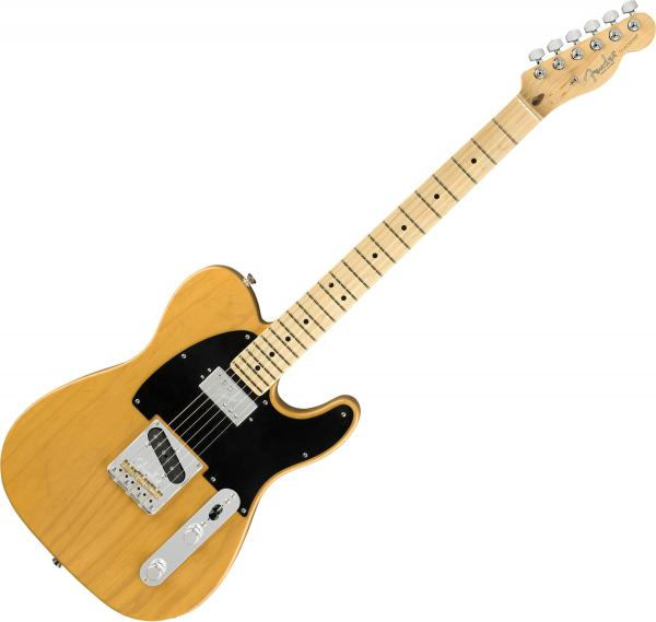 Guitare électrique solid body Fender American Professional Telecaster With Shawbucker Ltd (USA, MN) - butterscotch blonde