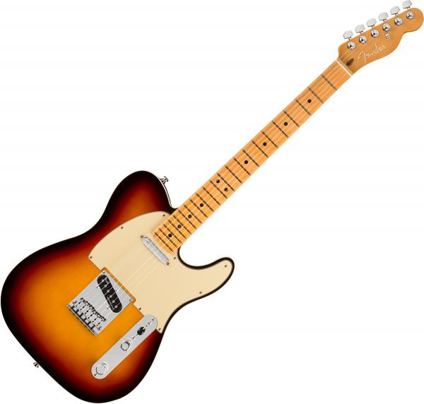 Guitare électrique solid body Fender American Ultra Telecaster (USA, MN) - ultraburst