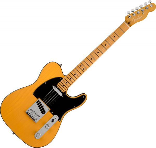 Guitare électrique solid body Fender American Ultra Telecaster (USA, MN) - butterscotch blonde