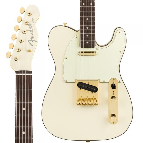 Guitare électrique solid body Fender Daybreak Telecaster Ltd 2019 (Japan, RW) - olympic white