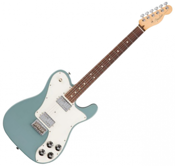 Guitare électrique solid body Fender American Professional Telecaster Deluxe Shawbucker (USA, RW) - Sonic grey