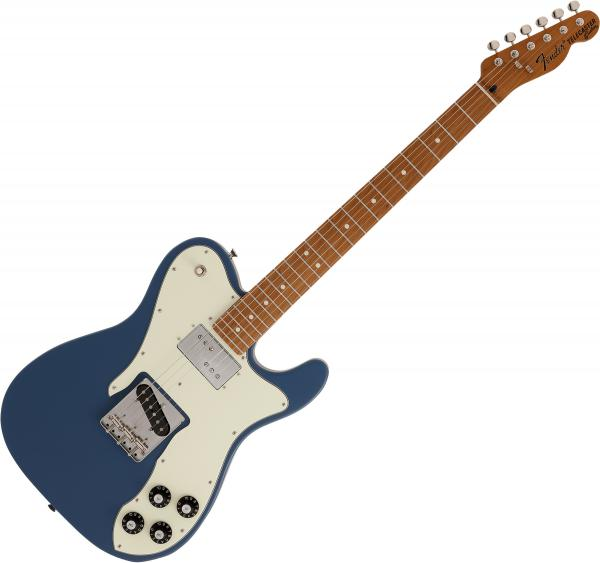 Guitare électrique solid body Fender Made in Japan Hybrid Telecaster Custom (MN) - Indigo