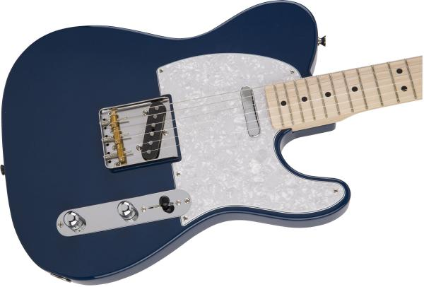 Guitare électrique solid body Fender Hybrid Telecaster (MN, Japan) - indigo
