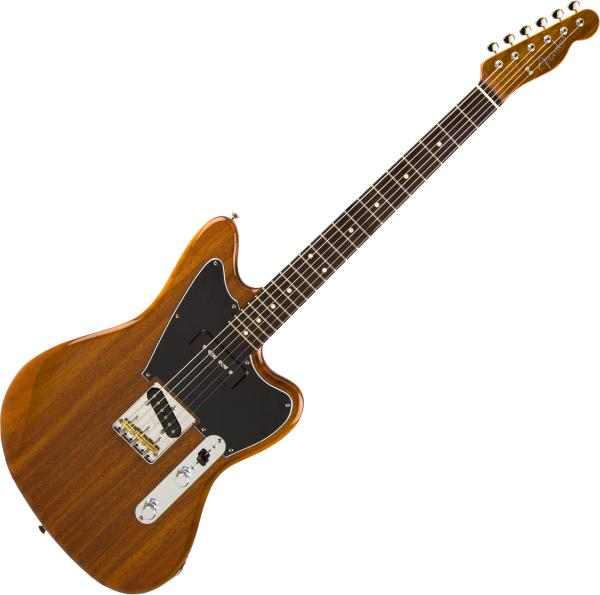 Guitare électrique solid body Fender Mahogany Offset Telecaster (Japan, RW) - natural