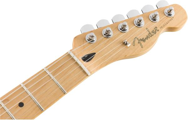 Guitare électrique solid body Fender Player Telecaster (MEX, MN) - polar white
