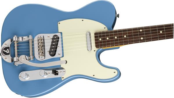 Guitare électrique solid body Fender Made in Japan Traditional 60s Telecaster Bigsby Ltd - candy blue