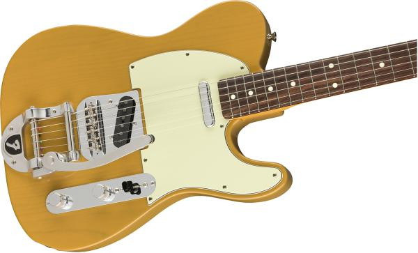 Guitare électrique solid body Fender Made in Japan Traditional 60s Telecaster Bigsby Ltd - butterscotch blonde