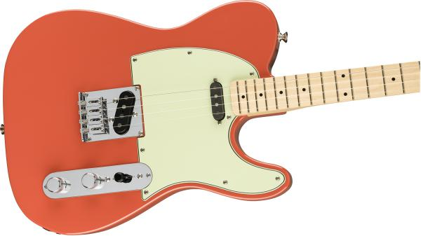 Guitare électrique solid body Fender Alternate Reality Tenor Tele (MEX, MN) - fiesta red
