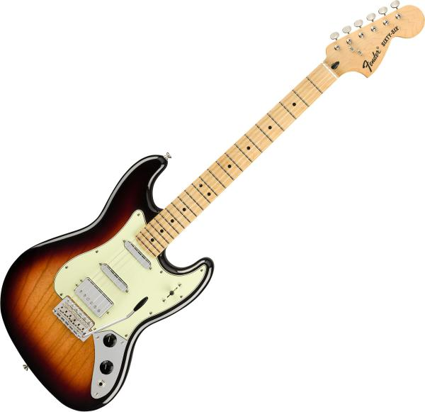 Guitare électrique solid body Fender Alternate Reality The Sixty-Six (MEX, MN) - 3-color sunburst
