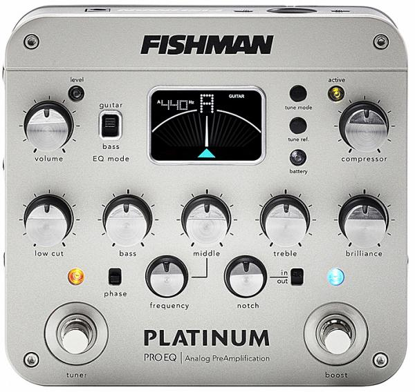 Preampli acoustic Fishman                        Platinum Pro EQ/DI Analog Preamp