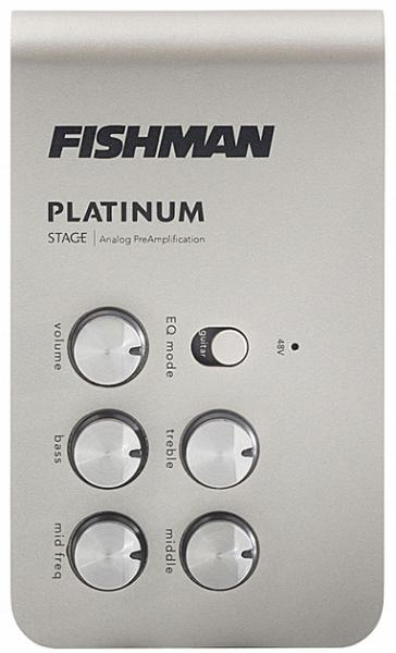 Preampli acoustic Fishman                        Platinum Stage EQ/DI Analog Preamp