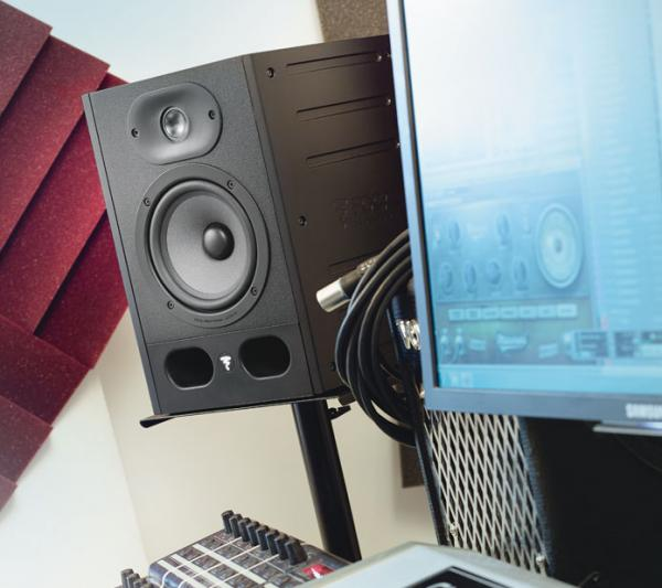Pack home studio Focal Alpha 50 (la paire) + pads