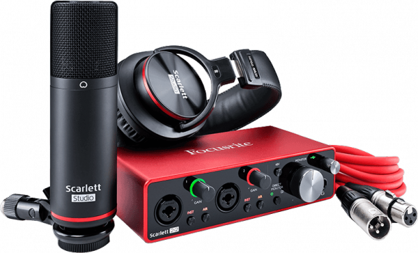 Pack home studio Focusrite Scarlett 3 2i2 Studio