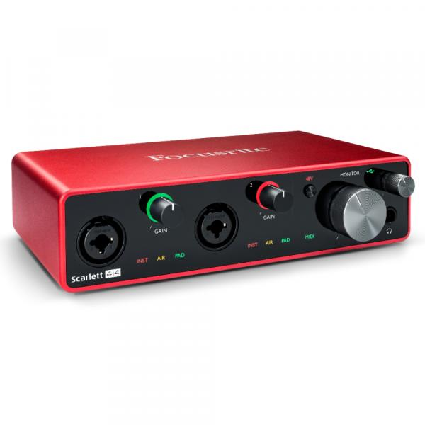 Interface audio usb Focusrite Scarlett 4I4 G3