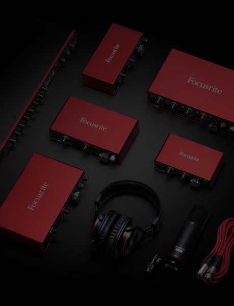 Interface audio Focusrite Scarlett 4I4 G3