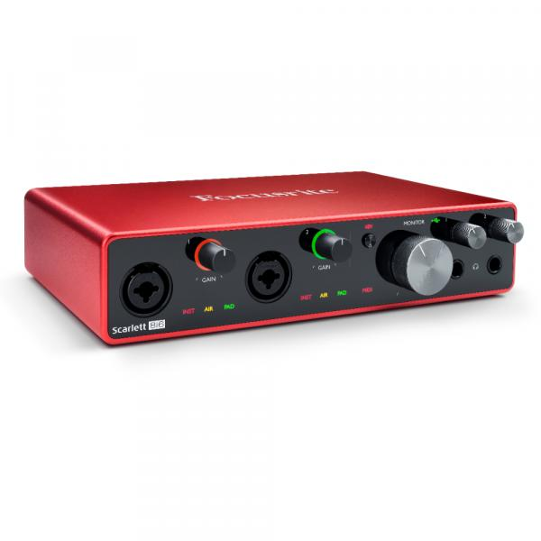 Interface audio usb Focusrite Scarlett 8I6 G3