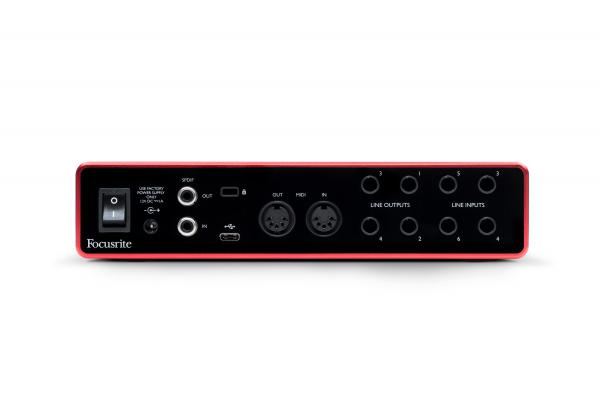Interface audio Focusrite Scarlett 8I6 G3