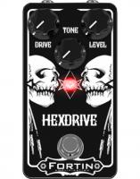 Pédale overdrive / distortion / fuzz Fortin amps Hexdrive