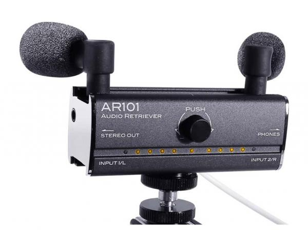 Micro radio, broadcast, camera Fostex AR101