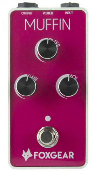 Pédale overdrive / distortion / fuzz Foxgear MUFFIN Distortion