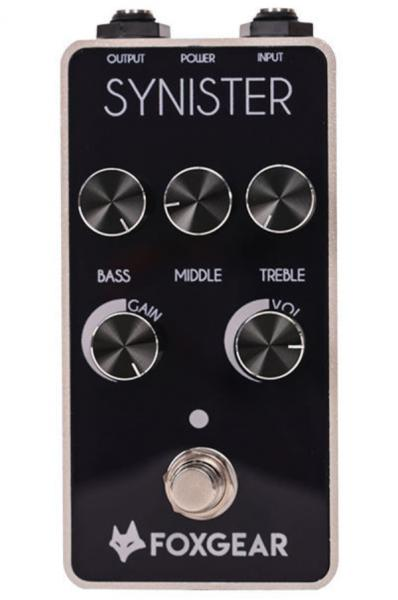 Pédale overdrive / distortion / fuzz Foxgear Synister Distortion