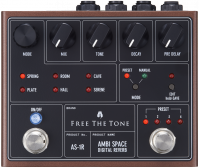 Pédale reverb / delay / echo Free the tone Ambi Space AS-1R Digital Reverb