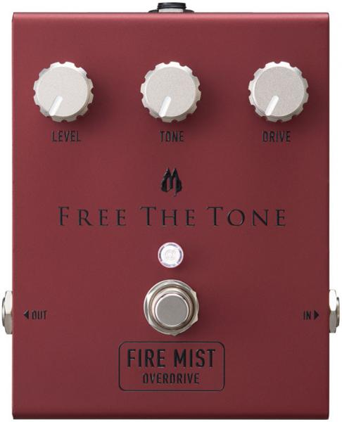 Pédale overdrive / distortion / fuzz Free the tone Fire Mist Overdrive FM-1V