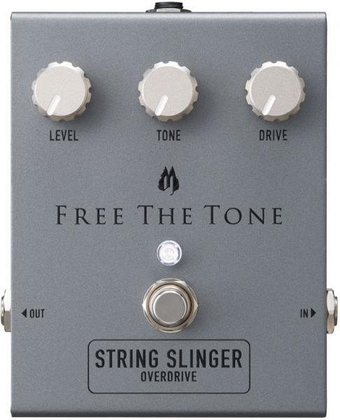 Pédale overdrive / distortion / fuzz Free the tone String Slinger Overdrive SS-1V