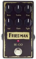Pédale overdrive / distortion / fuzz Friedman amplification BE-OD Overdrive