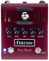 Pédale overdrive / distortion / fuzz Friedman amplification Fuzz Fiend