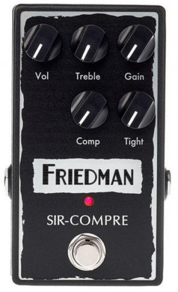 Pédale compression / sustain / noise gate  Friedman amplification SIR-COMPRE Compressor With Gain