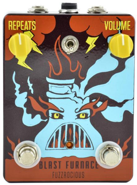 Pédale overdrive / distortion / fuzz Fuzzrocious Blast Furnace Fuzz/Delay